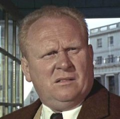 James Bond Actor Gert Frobe (Goldfinger)