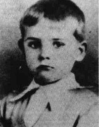 Sean Connery Age Four