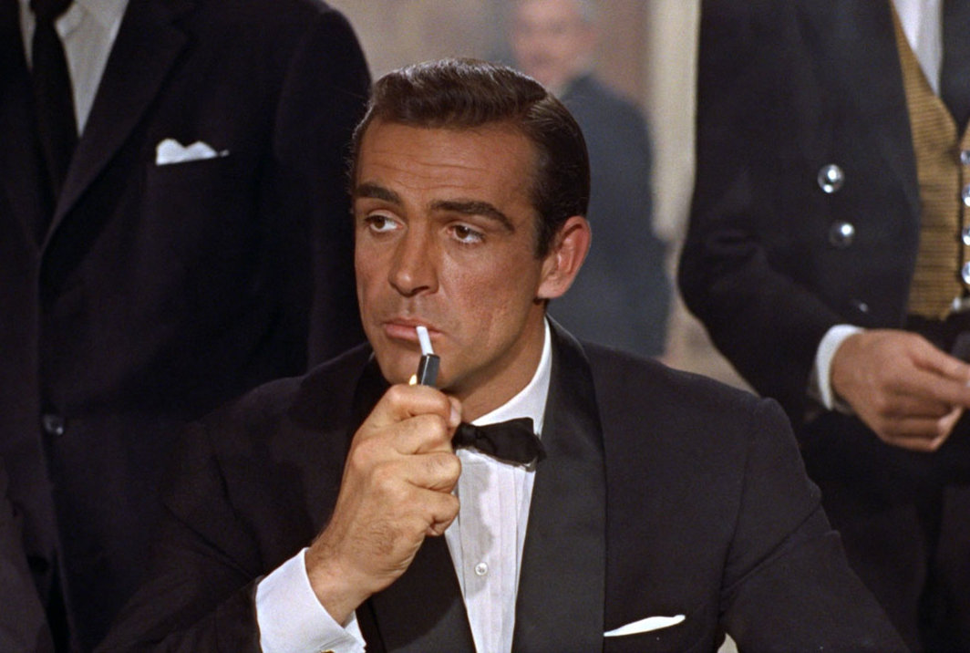 how many times did sean connery play james bond