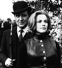 Honor Blackman and Patrick Macnee in The Avengers