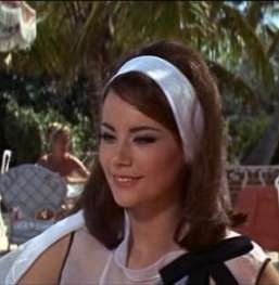 James Bond Actress Claudine Auger (Domino Derval)