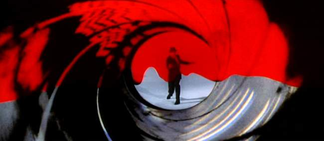 the gun barrel sequence james bond articles
