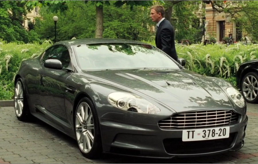 james bond aston martin casino royal