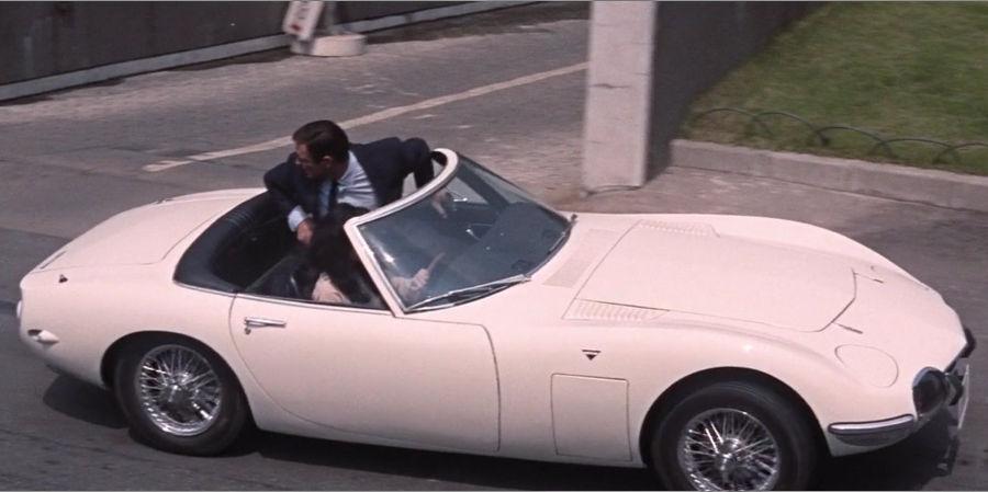 james bond all cars
