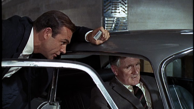 goldfinger bond desmond james sean connery 007 llewelyn quotes db5 1964 classics death gadgets gold eye years he bullz accident