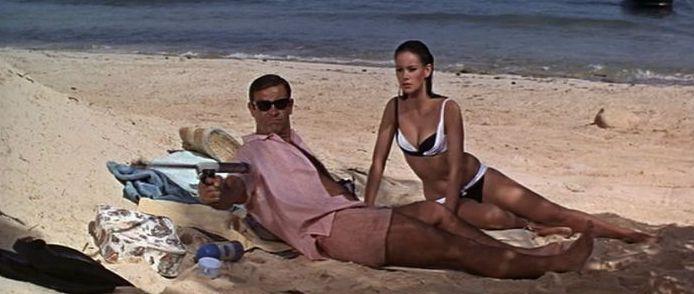 Image result for Bond harpoon gun got the point