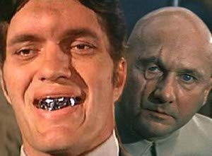James Bond Villains Jaws and Blofeld.