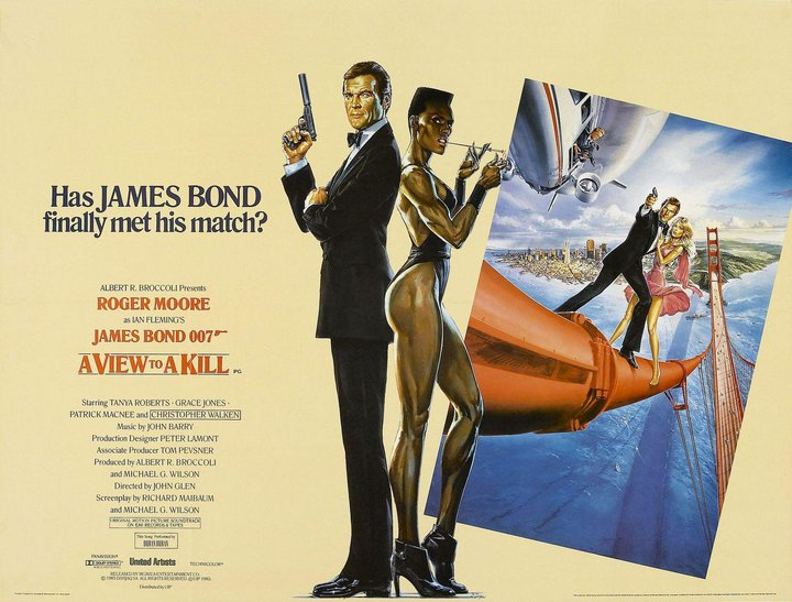 a view to a kill james bond movies