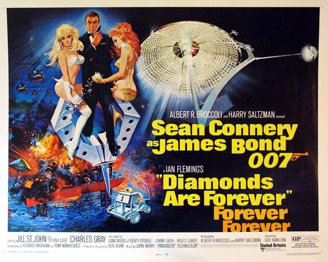 Diamonds Are Forever - James Bond Movies