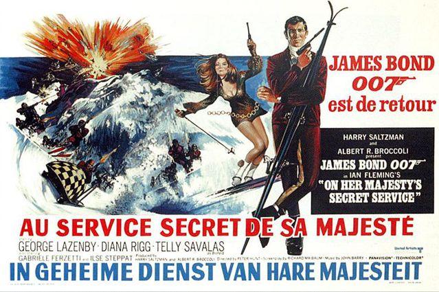 On Her Majesty's Secret Service - James Bond Movies