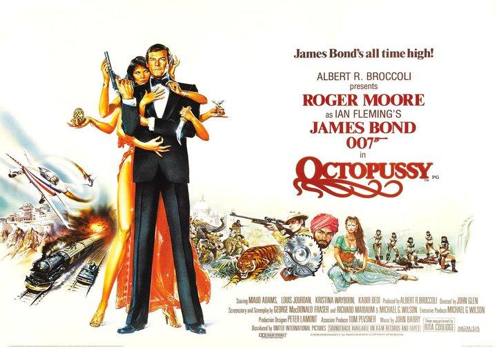 Octopussy - James Bond Movies