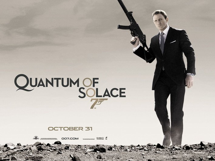 Bond Quotes Delectable Quantum Of Solace  James Bond Quotes