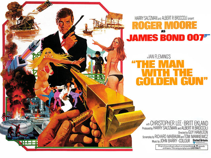 The Man With The Golden Gun James Bond Movies
