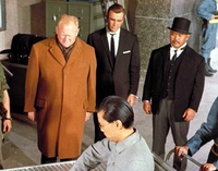 Auric Goldfinger at Fort Knox