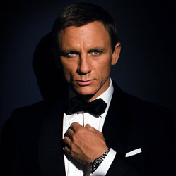 James Bond Actor Daniel Craig Promotional Shot