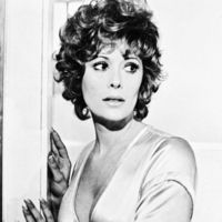 Jill St. John black and white