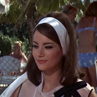 Claudine Auger as Domino Derval