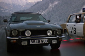 Aston Martin V8 - The Living Daylights