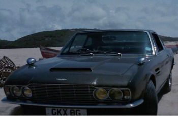 Aston Martin DBS - On Her Majesty's Secret Service