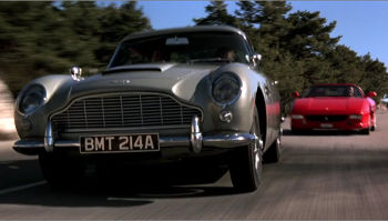 Aston Martin DB5 - Goldeneye
