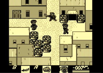 James Bond 007 Gameboy