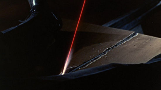 Cutting it close with a laser