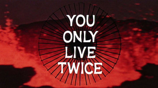 You Only Live Twice Titles