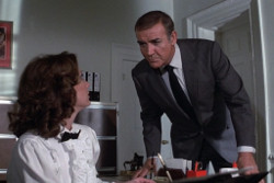 Sean Connery and Miss Moneypenny