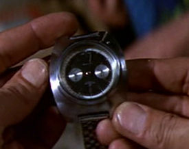 Geiger Counter in a Watch
