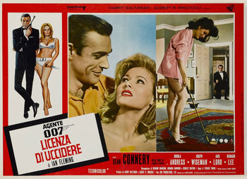 Dr. No Italian Poster