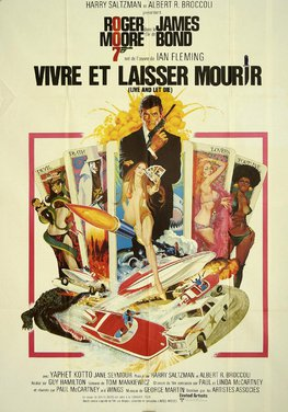 French Live And Let Die Poster