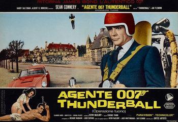 Thunderball Italian Poster