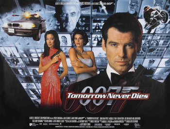 Tommorow Never Dies Poster