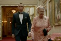 James Bond and The Queen at the Olympics