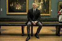 Bond at the National Gallery in Skyfall
