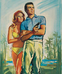 French Dr. No Poster