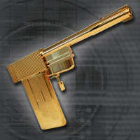 Replica Golden Gun Prop