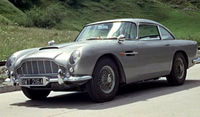 Aston Martin DB5 from Goldfinger