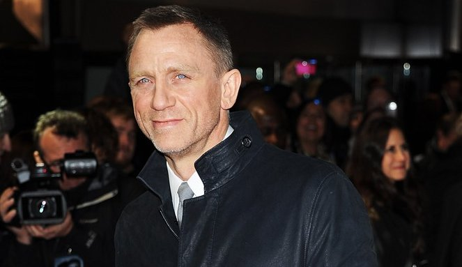 Daniel Craig at Leicester Square